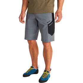Marmot Limantour Pantalones cortos Hombre, steel onyx/black